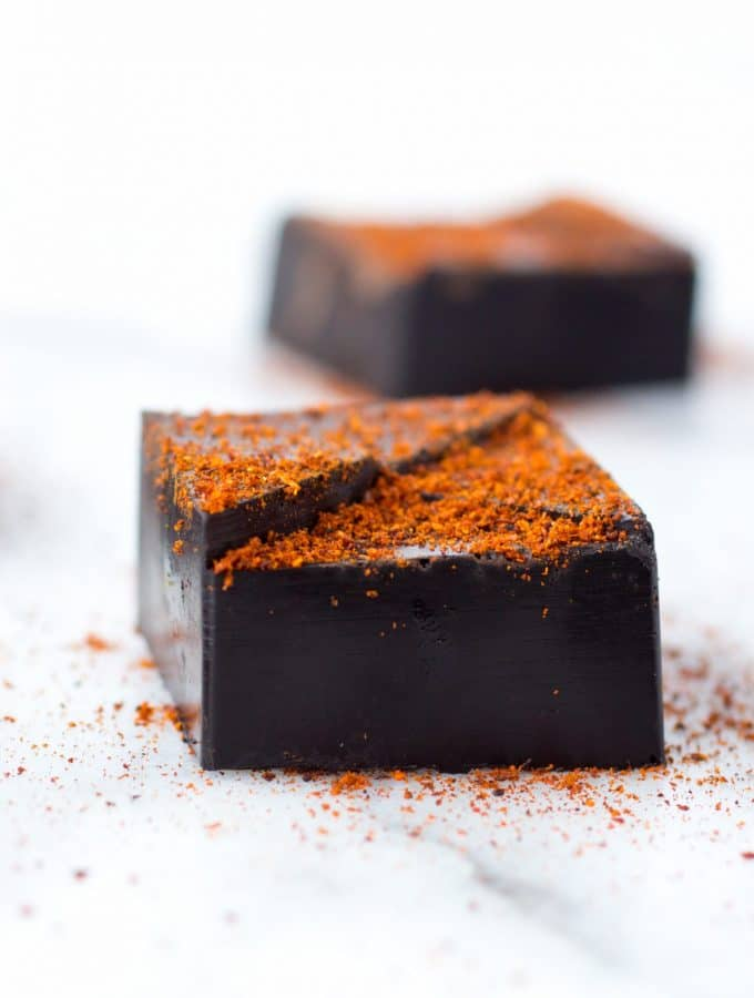 Mexican-Spiced Dark Chocolate