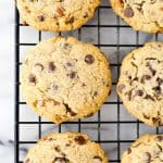 Grain-Free Chocolate Chip Cherry Ginger Cookies (Paleo, Gluten-free, Naturally-Sweetened)