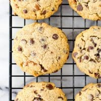 Chocolate Chip Cherry Ginger Cookies