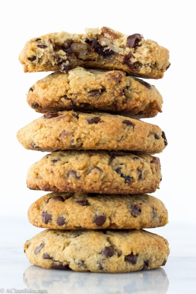 Grain-Free Chocolate Chip Cherry Ginger Cookies (Paleo, Gluten-free ...