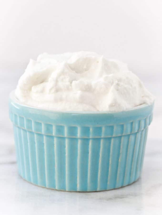Simple Dairy-Free Whipped Cream
