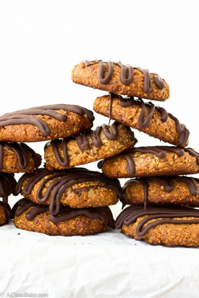 Scout Cookies are like a grown up version of the beloved Samoa, plus they're gluten-free, paleo and refined sugar-free!