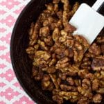 Sugar Free Candied Walnuts (Gluten Free, Vegan and Paleo)