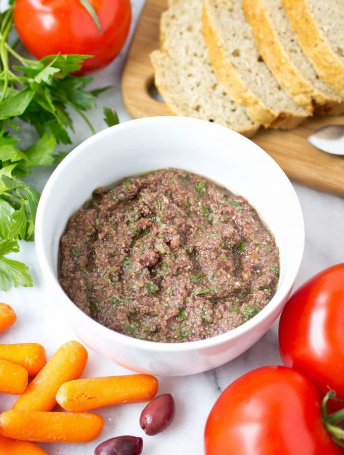 Olive Tapenade (Anchovy-Free)