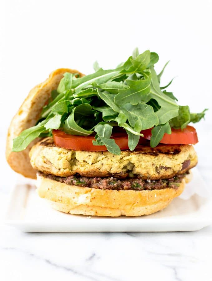Lemon Dijon Tuna Burger