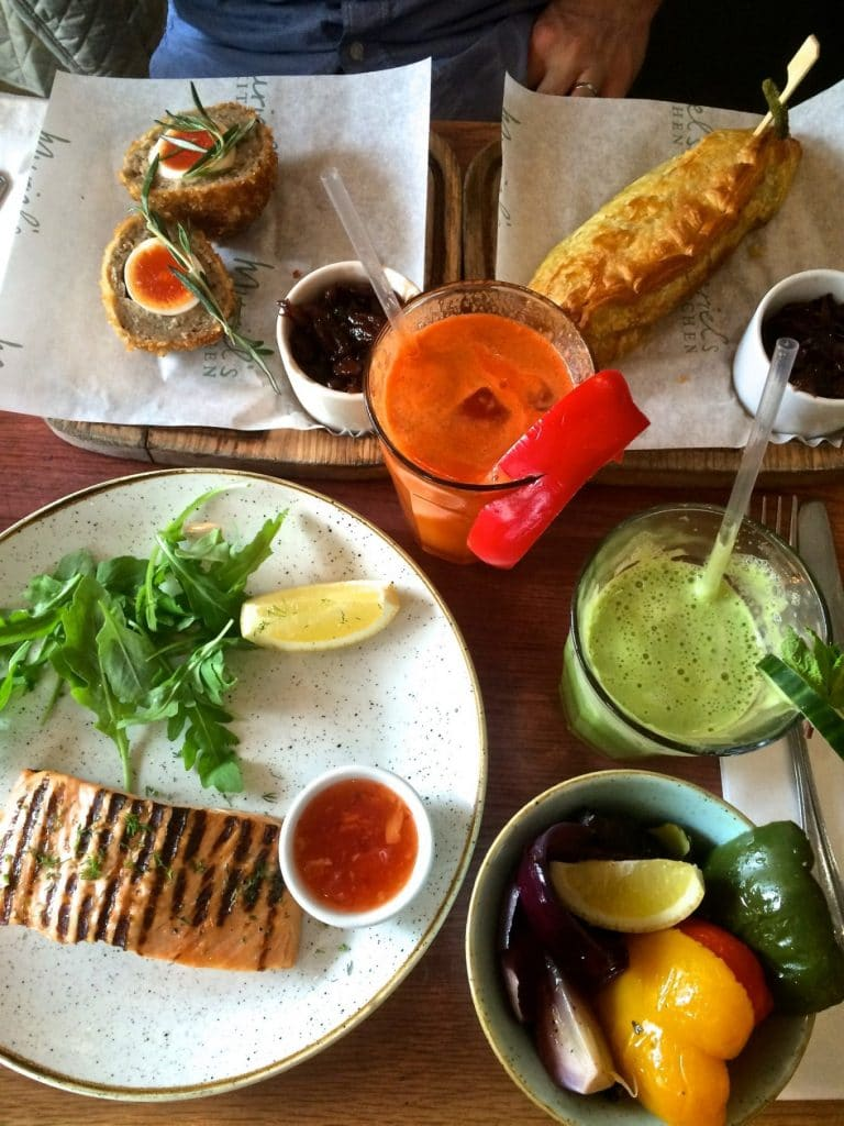 What and Where To Eat If You're Visiting London on a Gluten-Free or Paleo Diet