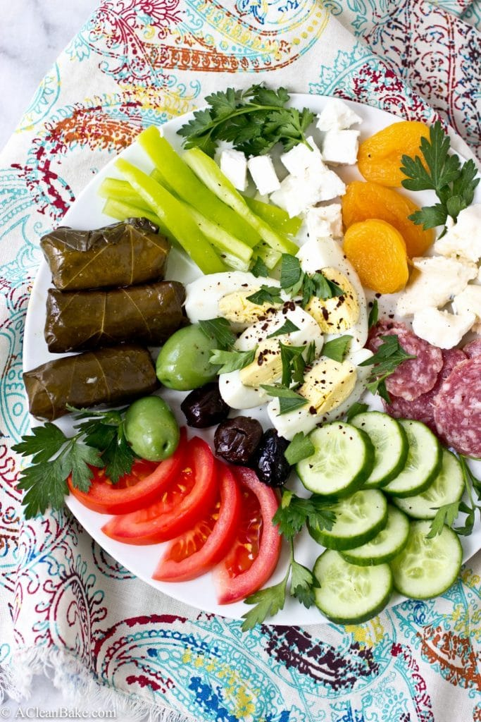 Turkish breakfast, the gluten free way. This meal is a delicious (and healthy) way to start the day! #glutenfree #paleo