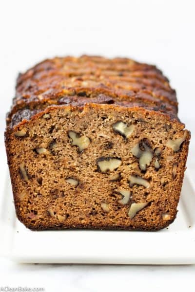 Grain Free Classic Banana Bread (Paleo Friendly and Naturally Sweetened)