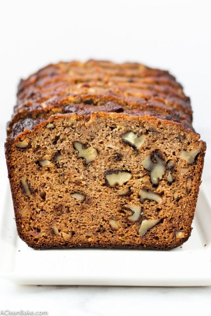 Grain Free Classic Banana Bread (Paleo Friendly and Naturally Sweetened)