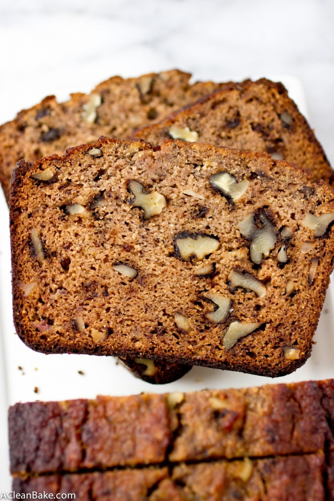 This classic banana bread has been overhauled to be grain free, gluten free, dairy-free and sugar-free. But you'll never notice the difference!