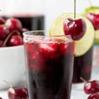 Cherry Lime Slushie