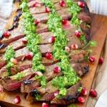 Flank Steak with Chimmichurri