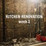 Kitchen Renovation: Week 1