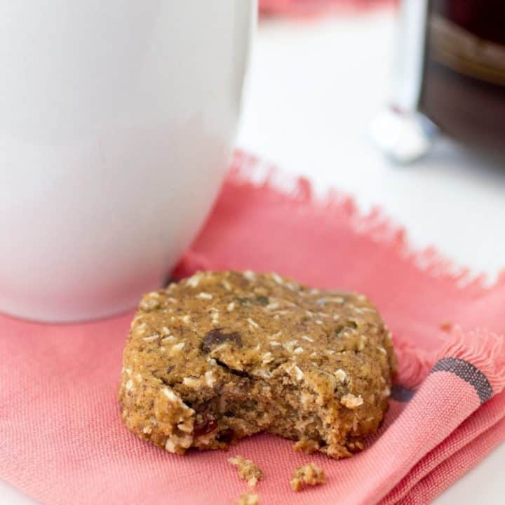 Nut Free Breakfast Cookies