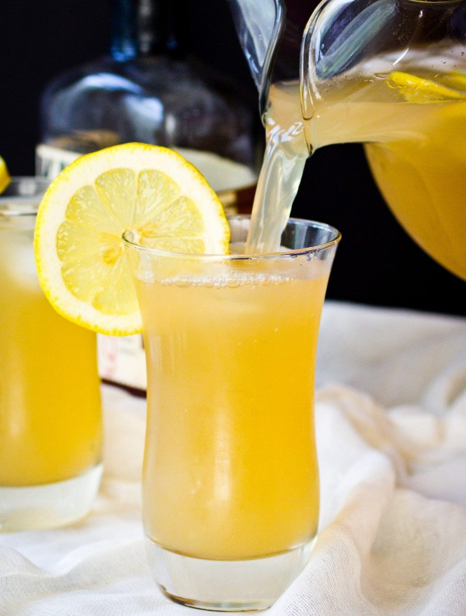 Lavender Arnold Palmer (Bourbon Optional)