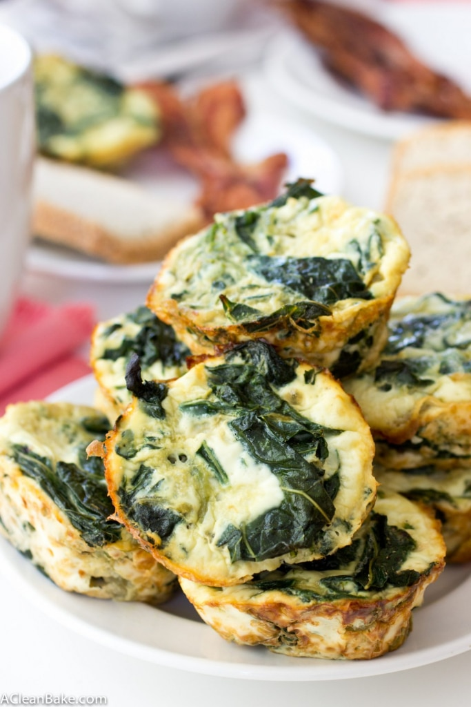 Freezer-friendly mini frittatas can be made ahead and make having a healthy breakfast a snap! (Gluten Free, Low Carb and Paleo)
