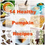 14 Healthy Pumpkin Recipes from ACleanBake.com