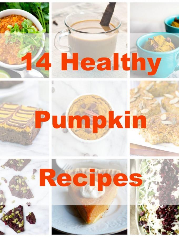 14 Healthy Pumpkin Recipes