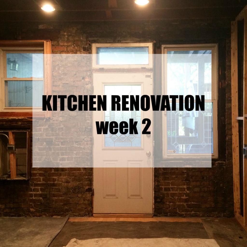 A Clean Bake Kitchen Renovation Week 2