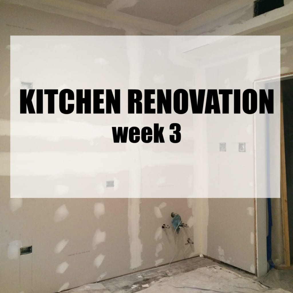 A Clean Bake Kitchen Renovation Week 3