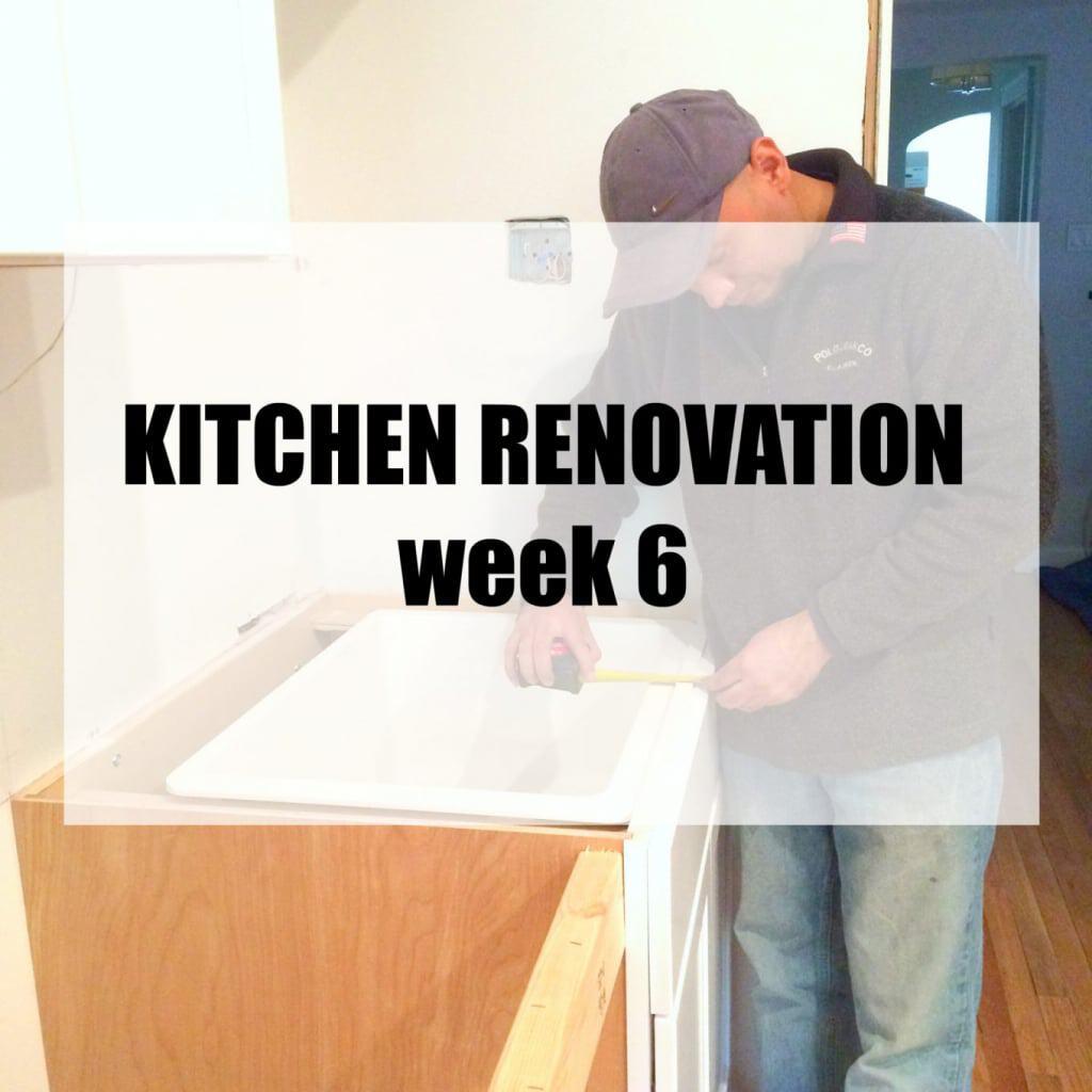 Kitchen Renovation: Week 6
