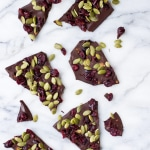Cranberry Pumpkin Seed Dark Chocolate Bark
