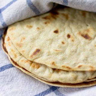 Gluten Free & Paleo Tortillas