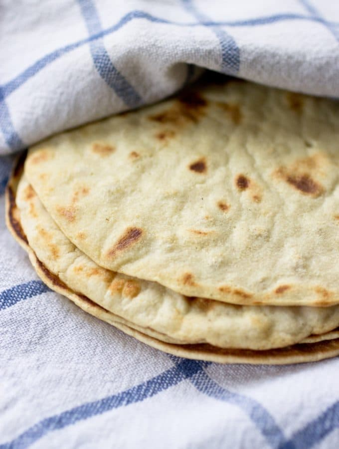 Grain Free Tortillas (Nut Free, too)