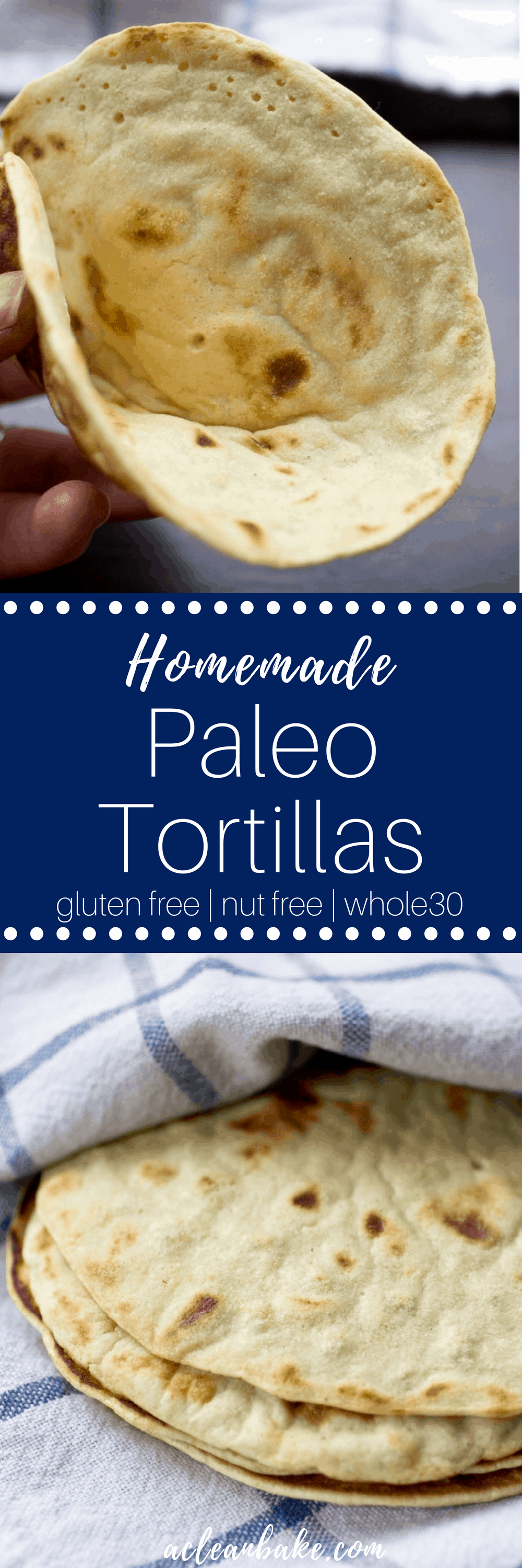 Easy Paleo and Nut Free tortillas #glutenfree #paleo #nutfree #healthytortillas #healthyrecipe #glutenfreewraps #paleowraps #nutfreewraps