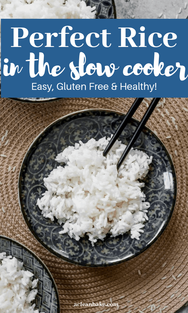 Perfect Slow Cooker Rice