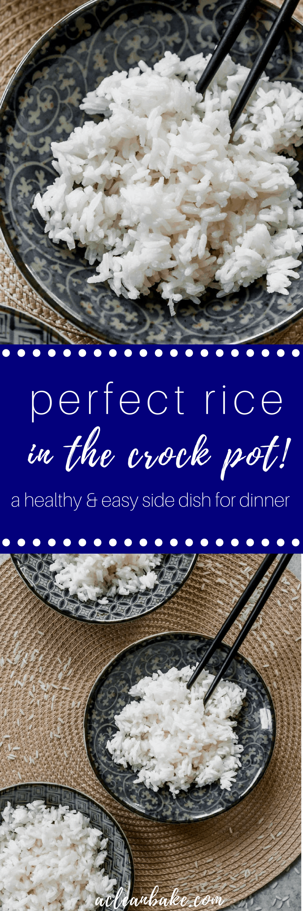 Slow Cooker Rice- How To Cook Rice In The Crock Pot (gluten free and paleo side dish) #glutenfree #paleo #sidedish #recipe #rice #slowcooker #crockpot