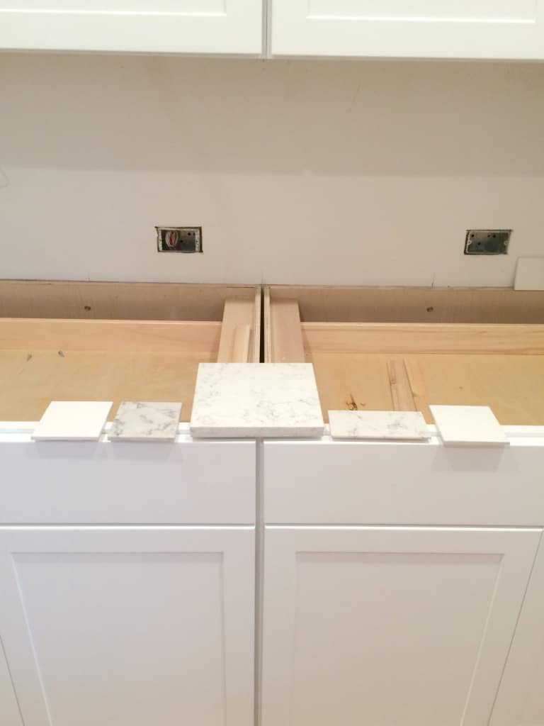 Day 43 Kitchen Renovation progress. See more at www.acleanbake