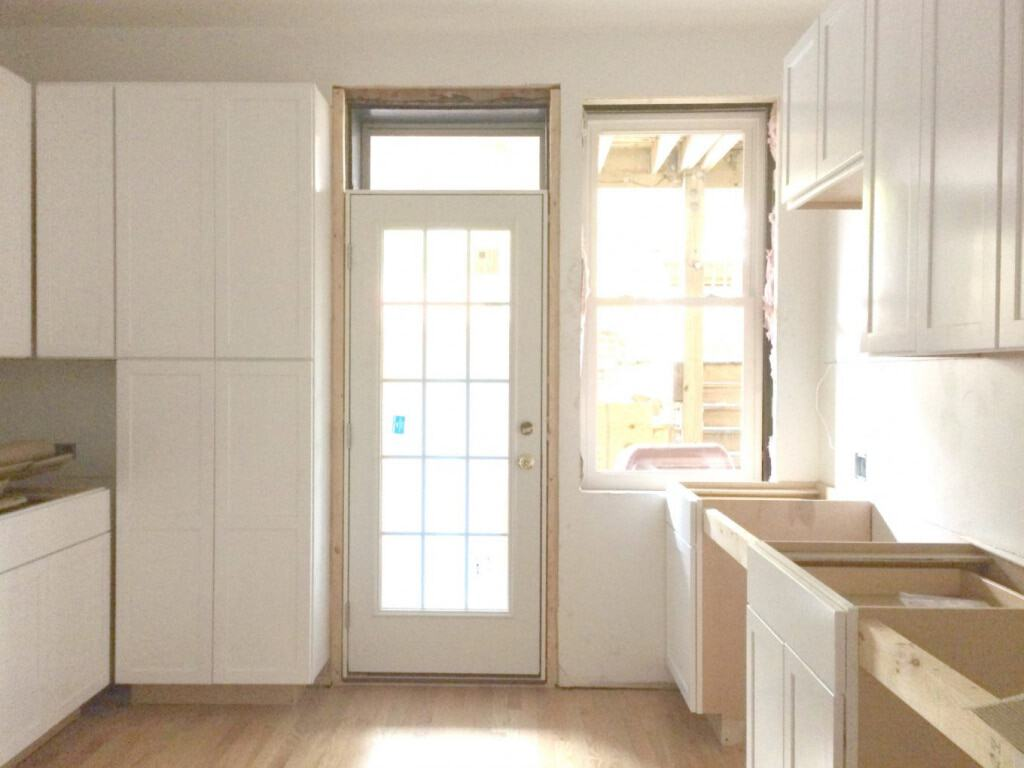 Kitchen Renovation In Progress kitchen renovation: weeks 7 & 8 | a clean bake