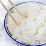 Making perfect white rice is easy using the slow cooker!