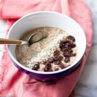 Grain Free Hot Cereal (Fauxtmeal)