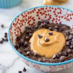 Faux-tmeal 3.0: Chocolate Peanut Butter Grain Free Hot Cereal