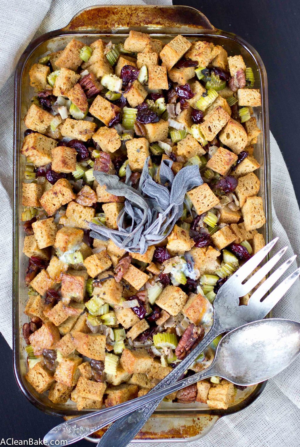 Grain Free Stuffing / Dressing (Gluten Free and Paleo)