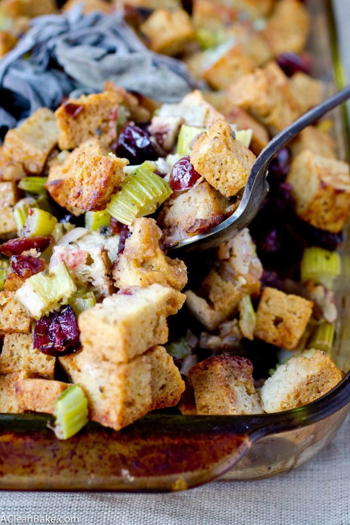 Grain Free stuffing (gluten free, paleo and vegetarian)