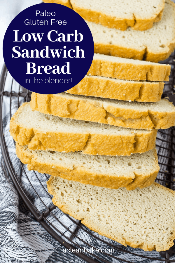 Low Carb Sandwich Bread