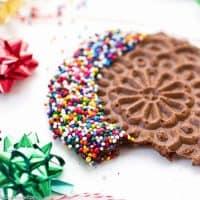 Grain Free Chocolate Pizzelles