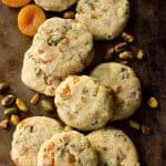 Apricot Pistachio Cookies