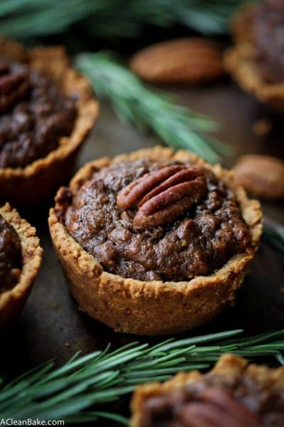 Mini Pecan Pies aka Pecan Tassies (Gluten Free and Paleo)