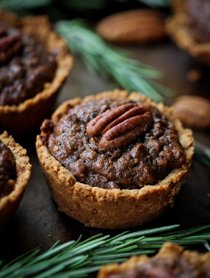 Mini Pecan Pies (aka Pecan Tassies)