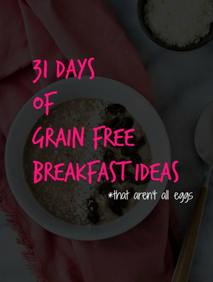 31 Days Worth Of Healthy Paleo Breakfast Ideas (And They're Not All Eggs)