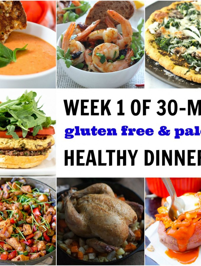 A Week of Healthy Dinners (in 30 Minutes or Less)