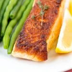 Easy Weeknight Seared Salmon
