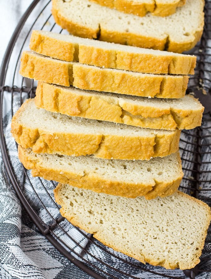 Low Carb Sandwich Bread – Make it in the blender! (Gluten Free and Paleo)