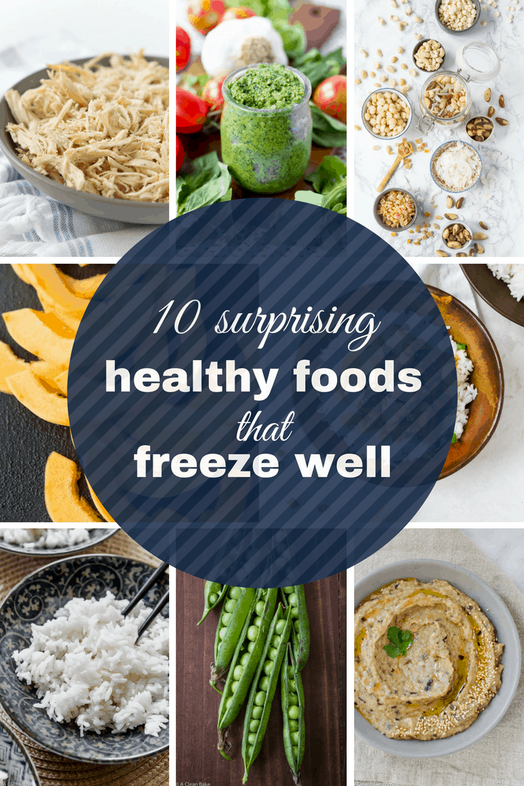 10 Surprising Healthy Foods That Freeze Well