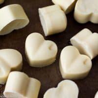 Homemade Sugar Free White Chocolate