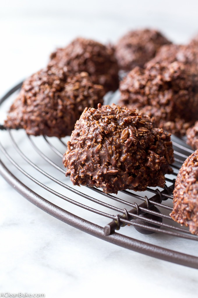 No-Bake Chocolate Macaroons (Gluten Free and Paleo)